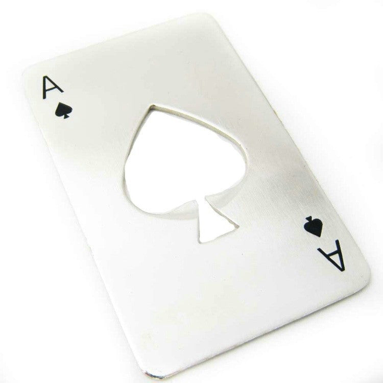 Ace of Spades Poker Card Bottle Opener | The Gift and Gadget Guys NZ | GGGNZ