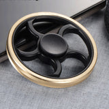 Round Copper Fidget Spinner | The Gift and Gadget Guys NZ | GGGNZ