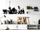 DC and Marvel Characters Wall Decal | The Gift and Gadget Guys NZ | GGGNZ