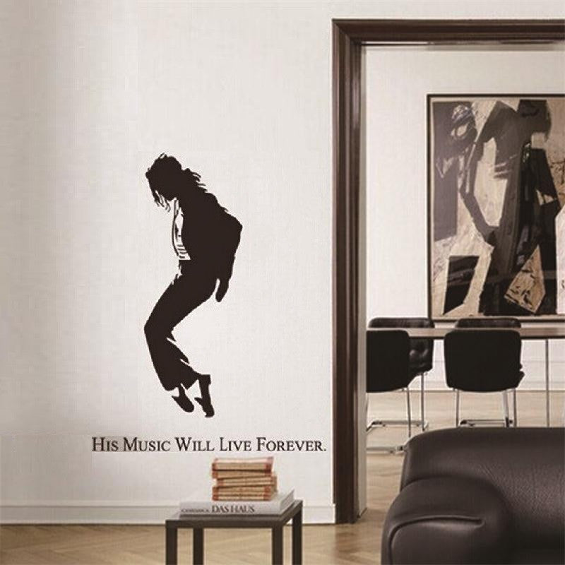 Michael Jackson Vinyl Wall Decal | The Gift and Gadget Guys NZ | GGGNZ