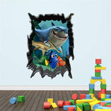 3D Finding Nemo / Finding Dory Vinyl Wall Decal | The Gift and Gadget Guys NZ | GGGNZ