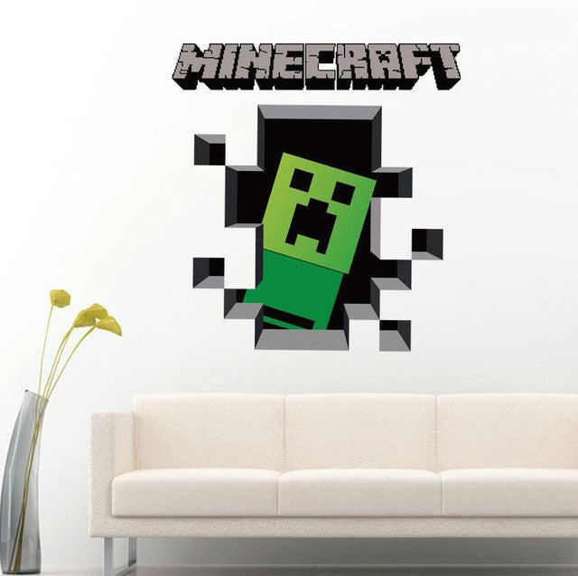 Minecraft Creeper Wall Decal | The Gift and Gadget Guys NZ | GGGNZ
