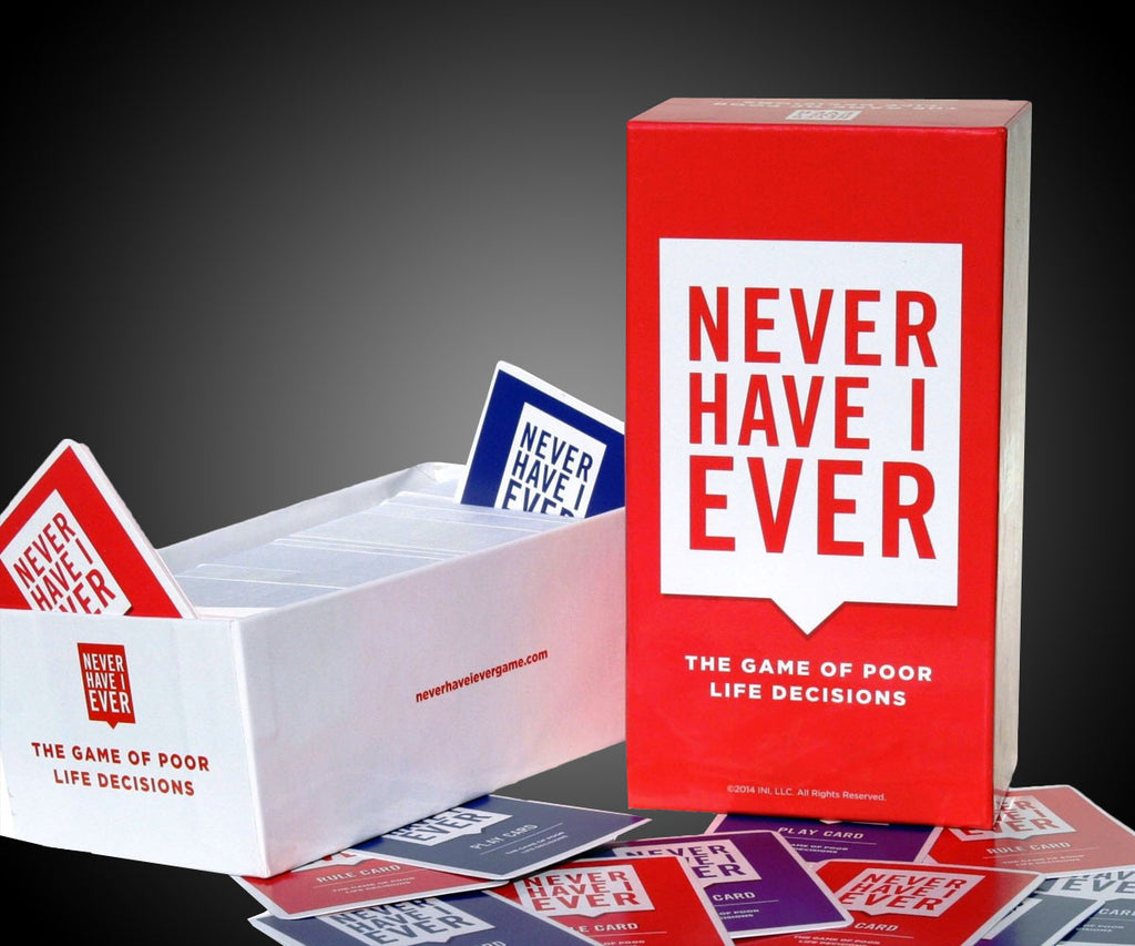 Never Have I Ever Card Game | The Gift and Gadget Guys NZ | GGGNZ