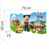 Paw Patrol Vinyl Wall Decal | The Gift and Gadget Guys NZ | GGGNZ