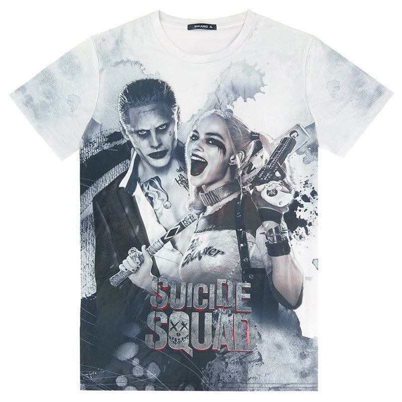 Suicide Squad - Harley Quinn & Joker T Shirt | The Gift and Gadget Guys NZ | GGGNZ