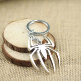 Spiderman Silver Spider Keyring | The Gift and Gadget Guys NZ | GGGNZ