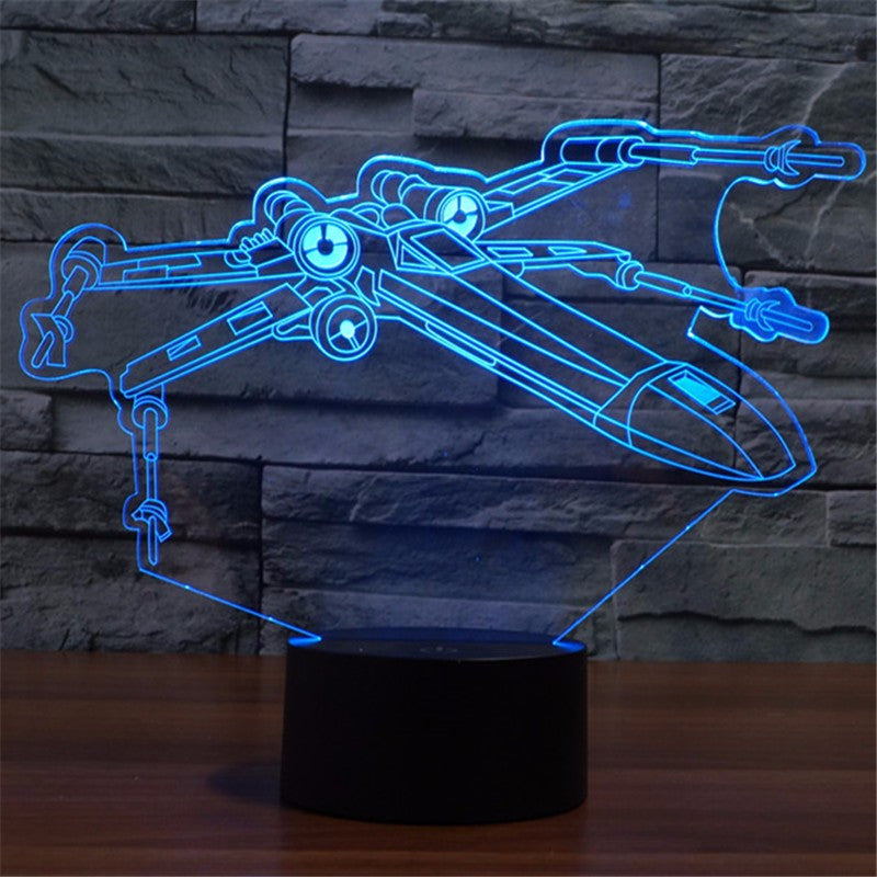 Star Wars X-Wing Nightlight Lamp | The Gift and Gadget Guys NZ | GGGNZ