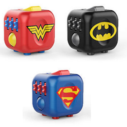 DC/Justice League Fidget Cube - by Antsy Labs | The Gift and Gadget Guys NZ | GGGNZ