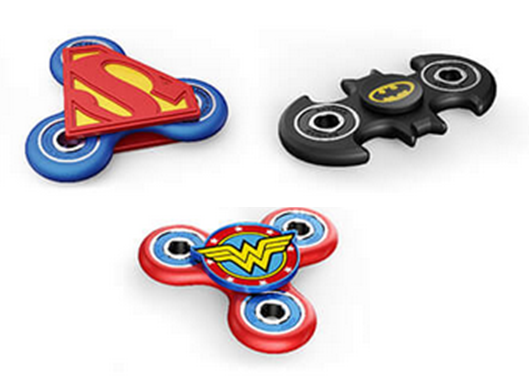 DC/Justice League Fidget Spinners - by Antsy Labs | The Gift and Gadget Guys NZ | GGGNZ