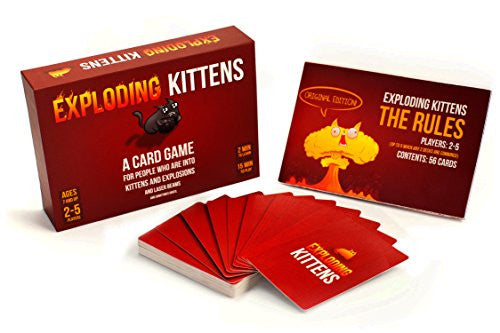 Exploding Kittens Card Game - Original Edition | The Gift and Gadget Guys NZ | GGGNZ