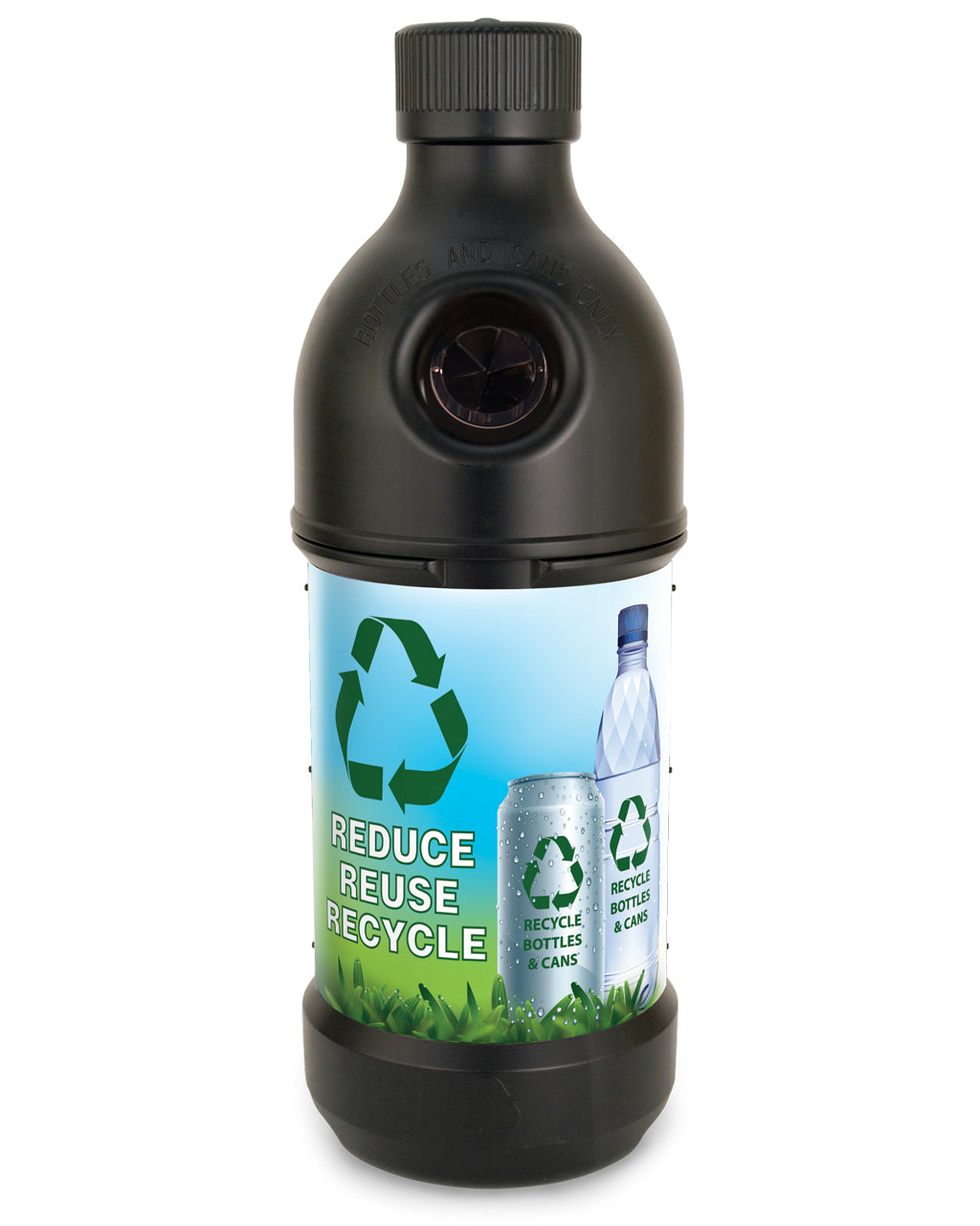 PET Recycling Bottle (100% Post Consumer Waste)