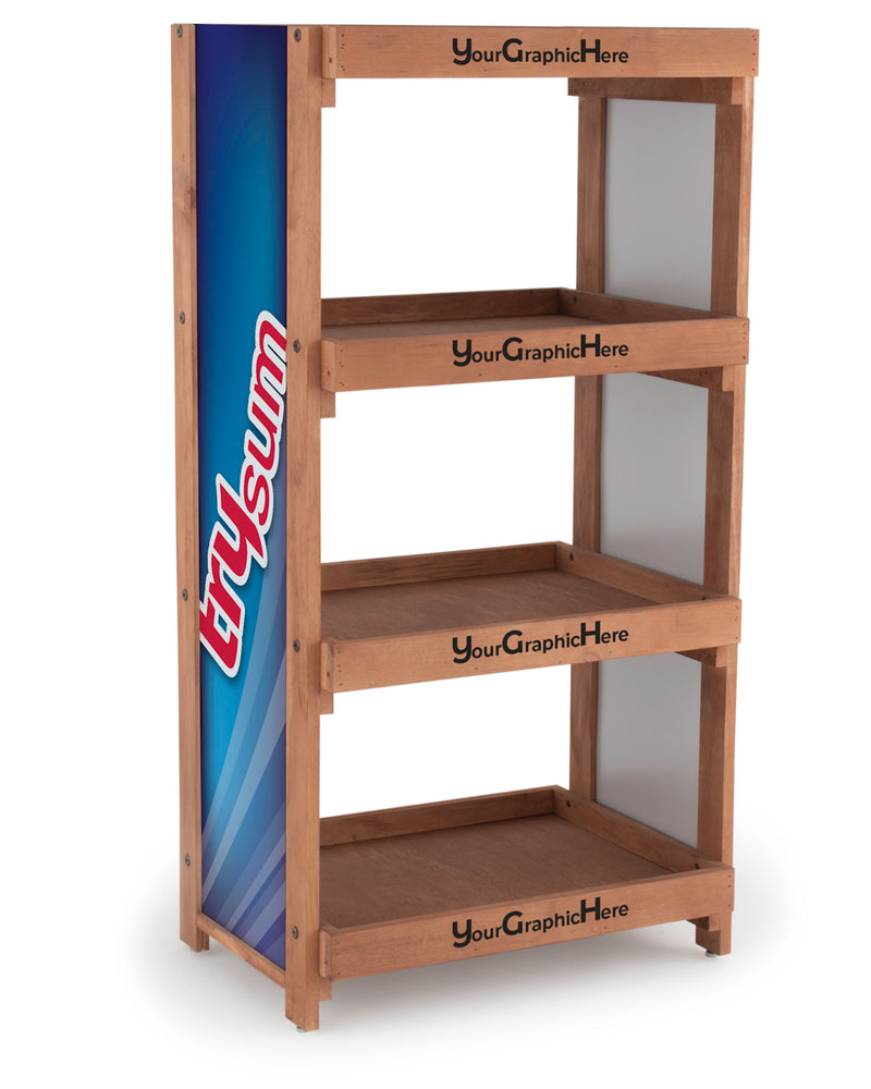 "4-Shelf Georgetown Rover Medium (26.5""W)"