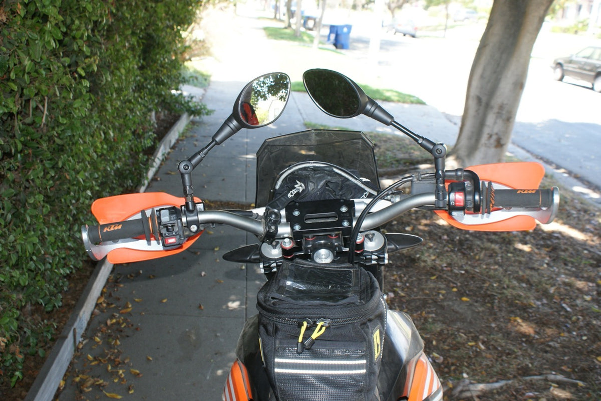 Ktm Folding Mirrors All Moto Science The King Of