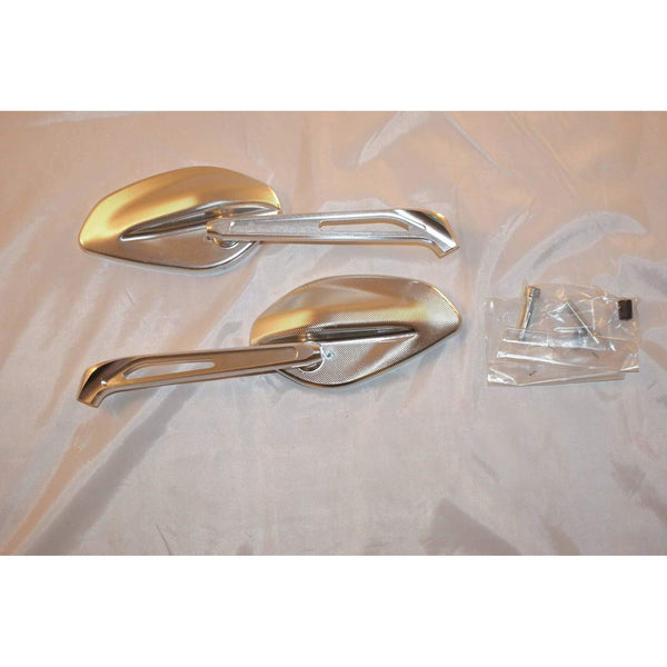 Ducati Billet aluminum rear-view mirrors 96880131A Pair 7438/39