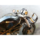 Ducati Guzzi Black Sport Mirror 6215 Each