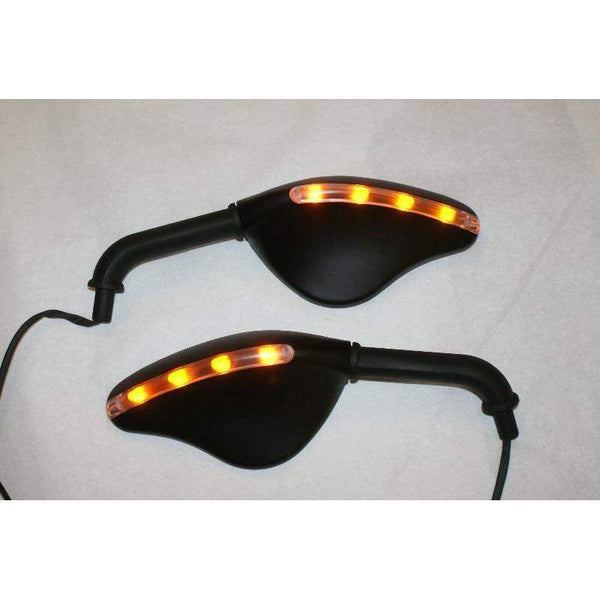 Ducati MTS HYM Monster Teardrop LED Mirrors 7098/99-Pair