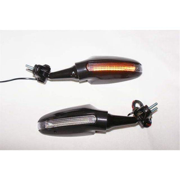 Yamaha R6 Ducati LED Touring Mirrors 6717/18 R6 late-Pair : R6 2008-16
