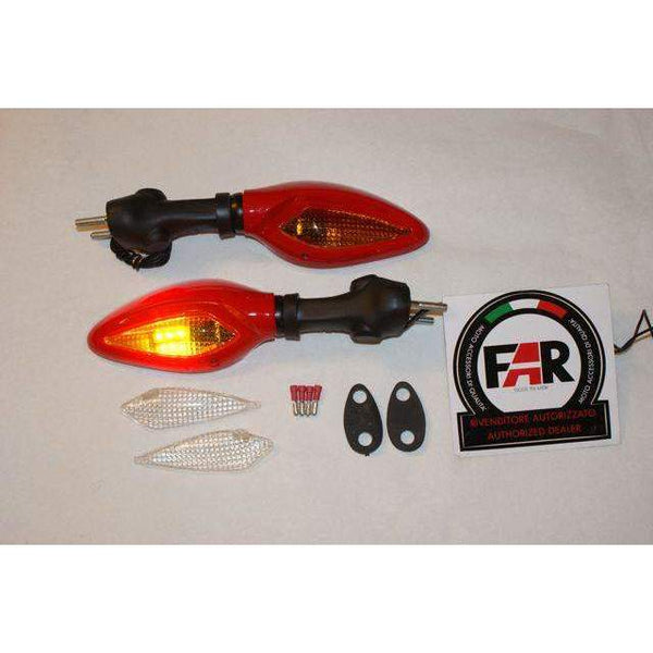Ducati Supersport Corse Red LED Mirrors 5667/68  Kit