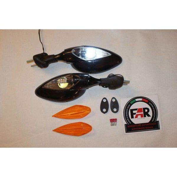 Ducati Supersport Dark Carbon LED Mirrors 5429/30CFDK Pair