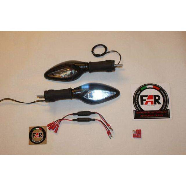 Moto Guzzi V11 Lemans Corsa LED Turn Signal Mirrors kit Pair 5318/19