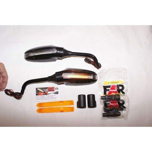 Piaggio MP3 with Ducati LED Touring Mirrors- 6417/6418PKIT Pair