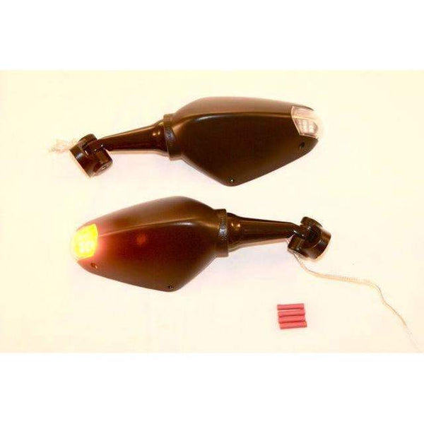 Yamaha R6 LED Mirrors 1998-2007 Pair 7064/65