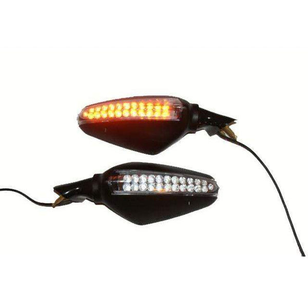 Special Edition Ducati 998 Mirrors LEDS Gran Turismo 6889/90SE Pair