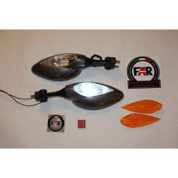 Moto-Guzzi Lemans Classic LED mirrors kit 5403/04GUZ - Pair