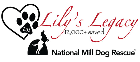 National Mill Dog Rescue - Lily's Legacy