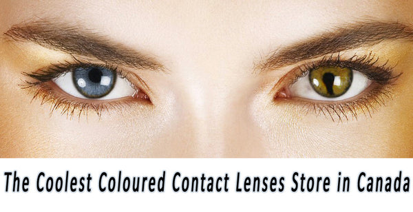 The Coolest Coloured Contact Lenses Store in Canada