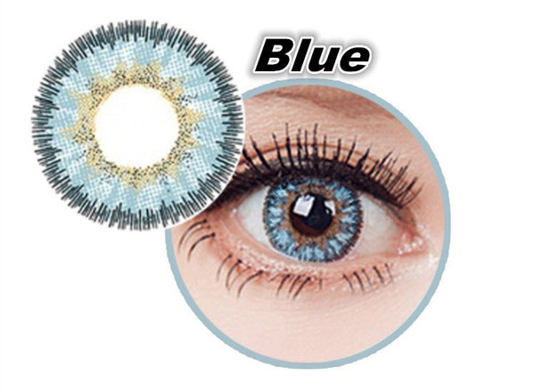 Angel Blue Magic Circle Contact Lenses - Canadian Online Shopping Hub