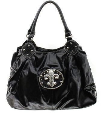 Black Crest Hand Bag - Canadian Online Shopping Hub