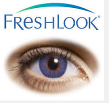 True Sapphire Freshlook Color Contact Lenses