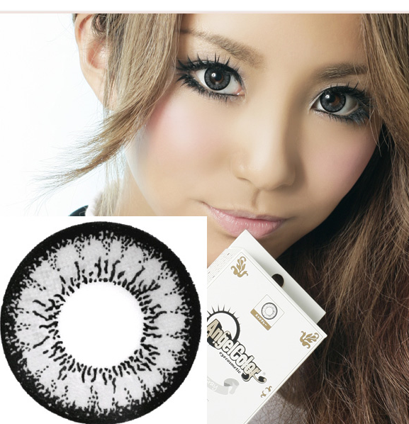 angel grey big eye contacts, circle lenses Canada