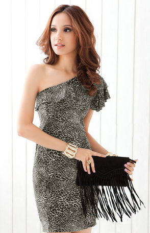 Leopard Print Dress - Canadian Online Shopping Hub - 1