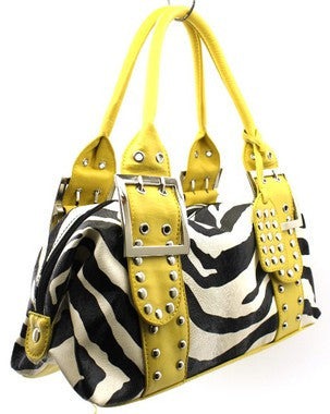 Zebra Print Hand Bag - Canadian Online Shopping Hub