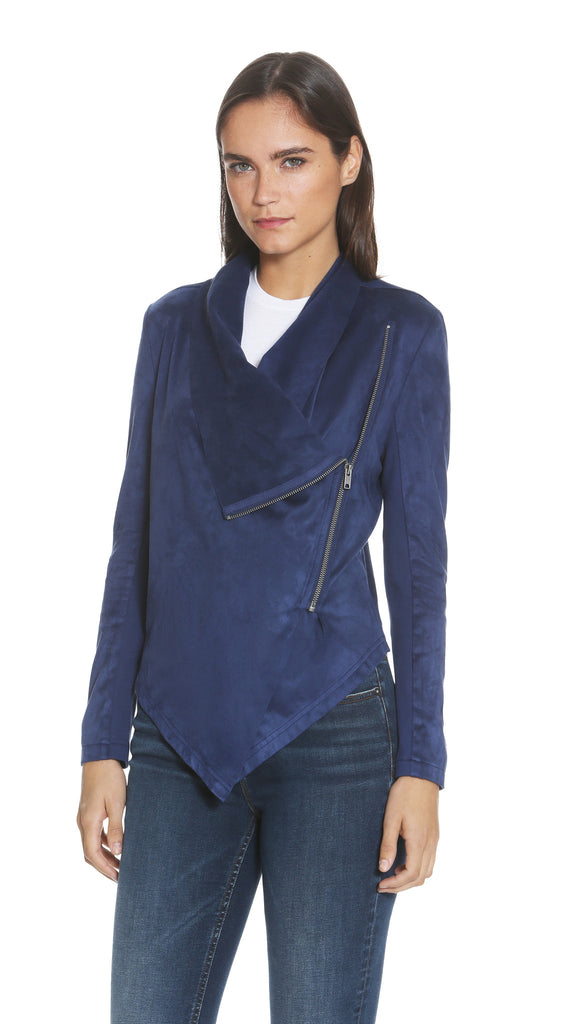 Navy Wrap Jacket