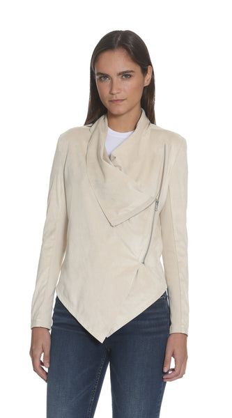 Taupe Wrap Jacket