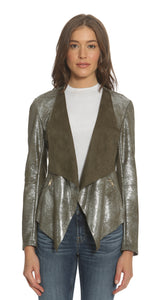 Metallic Wrap Jacket