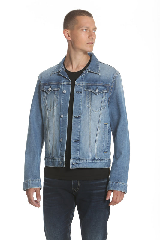 Trucker Jacket - Light Wash