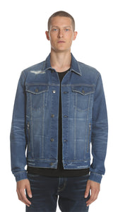 Trucker Jacket - Blue Vintage