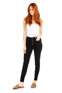 Ace High Rise Skinny - Black