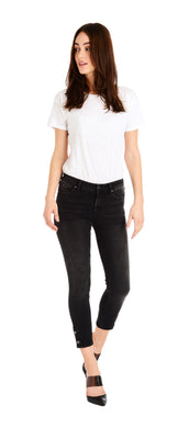 Marley Skinny - Black Button