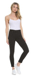 Black High Rise Chelsea Skinny