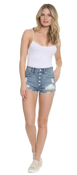 High Waist Jagger Short