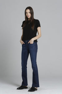 "Marley Boot Cut - Dark Tonal <font color=""red""> [INSEAMS AVAILABLE] </font>"