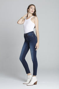 Ace High Rise Skinny - Dark
