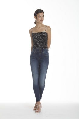 Ace High Rise Skinny - DBL Button