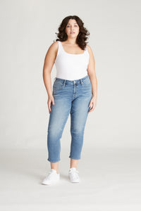 Marley Mid Rise Crop Skinny [Plus Size] - Medium