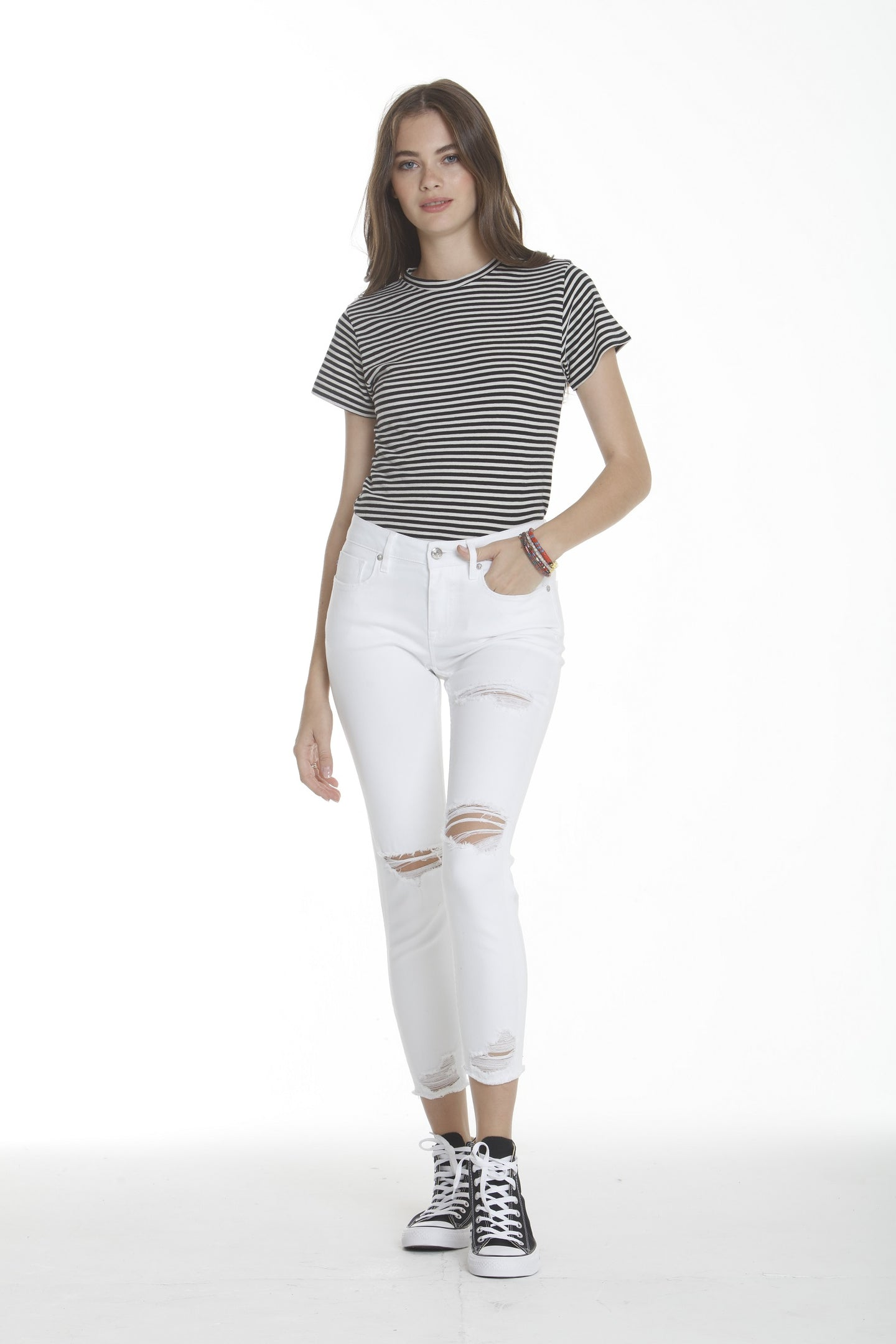 Marley Mid Rise - White